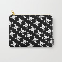 Skull Crossbones Symbol Carry-All Pouch