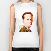 moriarty Biker Tanks featuring Miss me? - Jim Moriarty by Pash Arts