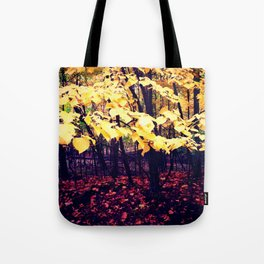 Under The Shade Of Yellow Tote Bag
