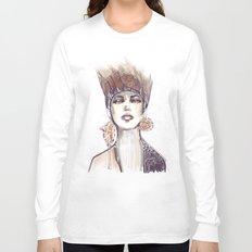 Punk fashion illustration  Long Sleeve T-shirt