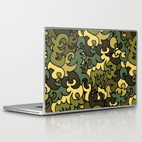 military Laptop & iPad Skins featuring Military pattern. by Julia Badeeva