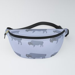 Bison And Baby (Tide) Fanny Pack