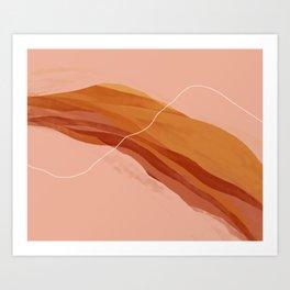 Midwest September Sunset Art Print
