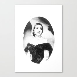 Maria Callas Canvas Print