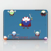 league iPad Cases featuring Peppermint League by Carieo's Creation
