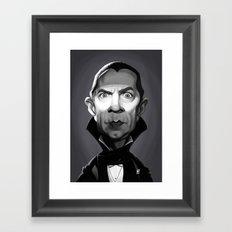Bela Lugosi Framed Art Print