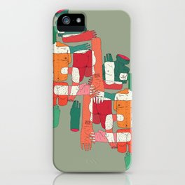 body interaction iPhone Case