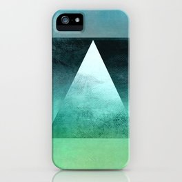 Triangle Composition X iPhone Case