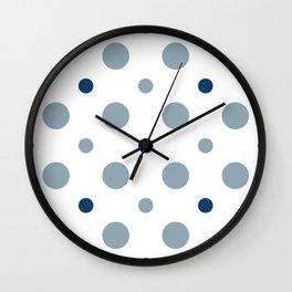 Pattern Play: Polka Dots Wall Clock