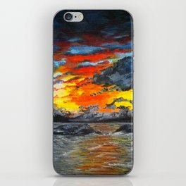 Stormy Seas iPhone Skin