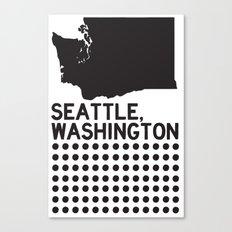 SEATTLE WASHINGTON Canvas Print