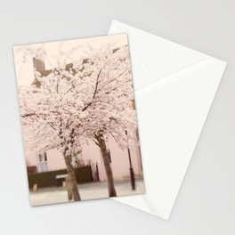Village in Blossom Stationery Cards