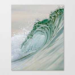 Glassy Wave Canvas Print