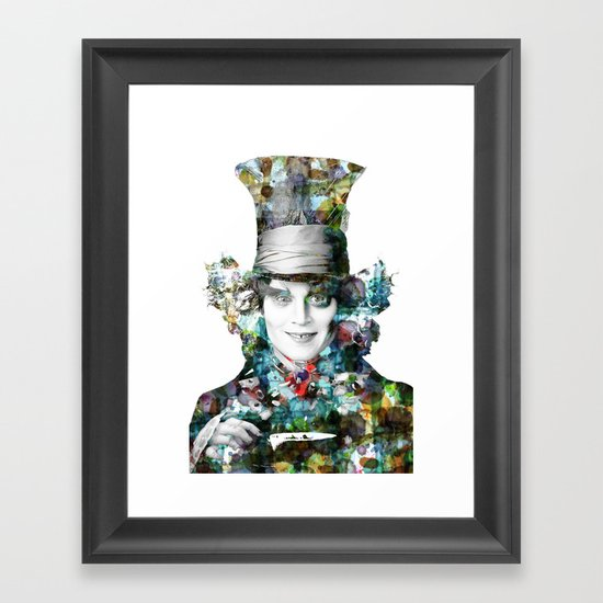 Mad Hatter Framed Art Print