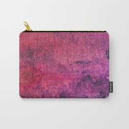 Acrylic-Acrylic Painting-Abstrac Acrylic-Pink Painting-Paiting Art Carry-All Pouch