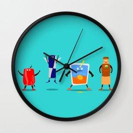 Mr. Juice & Co. Wall Clock