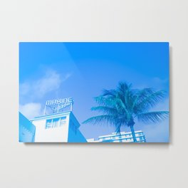 Art Deco Miami Beach #19 Metal Print