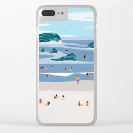 Islands Horizons Clear iPhone Case
