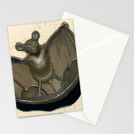 Metal Bat Tray in Gouache Stationery Cards