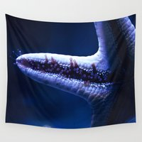 starfish Wall Tapestries featuring Starfish by Robert Payton