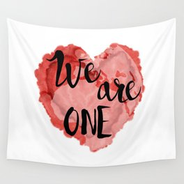 We Are One -Global Community Wall Tapestry