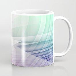 Square Abstract Coffee Mug