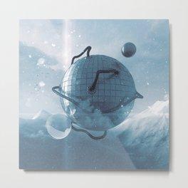 Futuristic Igloo Metal Print
