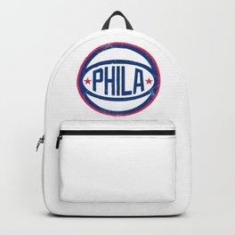 Phila Retro Ball - Blue Backpack