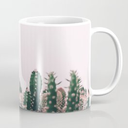 Pink Blush Cactus Coffee Mug