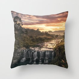 Fire & Water Throw Pillow
