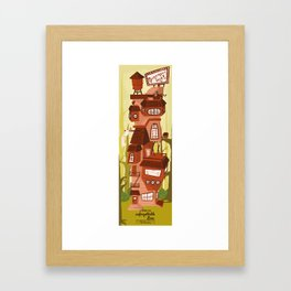 The Mansions - The Home of the Unforgettable Love Framed Art Print