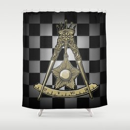 14th Degree: Perfect Elu Shower Curtain