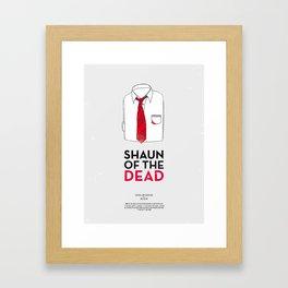 Dress The Part - Shaun of the Dead Framed Art Print