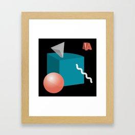 Things Arranged Neatly I Framed Art Print