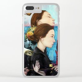 Fickle Clear iPhone Case