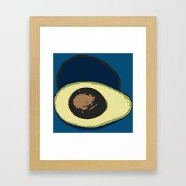 Life Cycle of an Avocado Framed Art Print