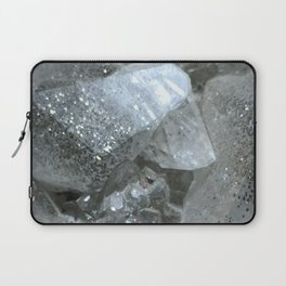 Pyrite in Calcite Laptop Sleeve