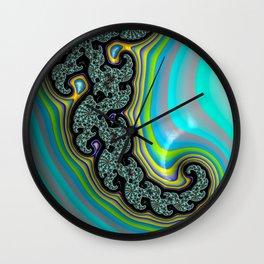 On Island Time Wall Clock