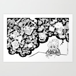 The Artist's Mind Art Print