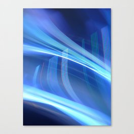 Smooth light art photography Canvas Print