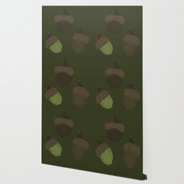 Northern Pin Oak Acorns from the Pacific Northwest Wallpaper