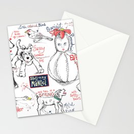 Things on My Mantel #1 Stationery Cards