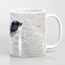 Seal in the Surf by Reay of Light Coffee Mug