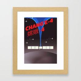 Chang'e-4 Framed Art Print
