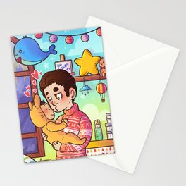 Love my little baby Stationery Cards