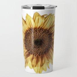 Lone Sunflower Travel Mug