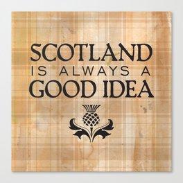 Scotland Trip Canvas Print