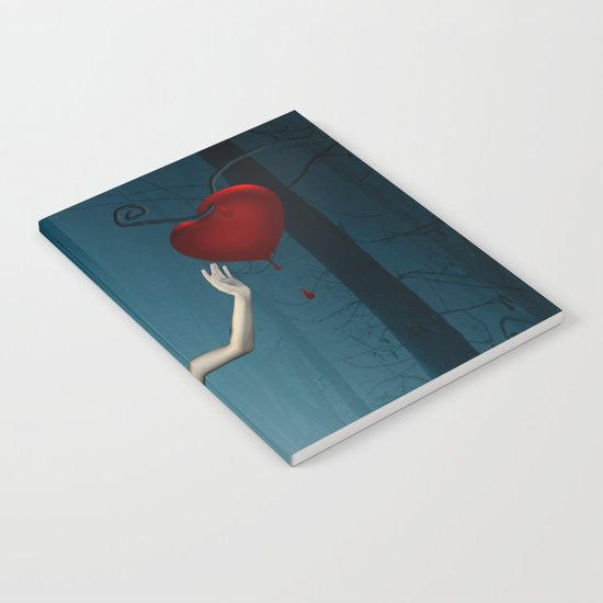 Bleeding heart Notebook