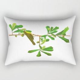 Roscoe's Yellow-throat Bird Rectangular Pillow