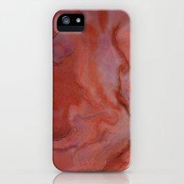 Agate - Original Art (encaustic painting) iPhone Case